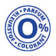 0% perfume and dye quality mark